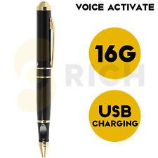 16Gb Digital Voice Recorder, Portable Voice Recorder Pen Mini Audio Recording