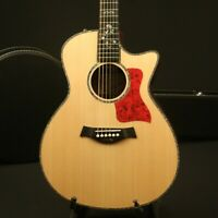Top Quality Electric Acoustic Guitar Solid Sitka Spruce Top Ebony Fingerboard