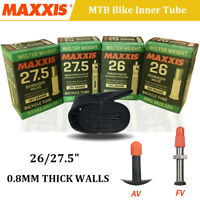MAXXIS Tire Inner Tube 0.8mm Thick MTB Mountain Bike Inner Tube Presta/Schrader