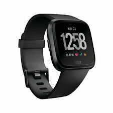 Fitbit Versa Smartwatch - Black Aluminum