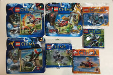 Lego Chima Lot: 70113, 70110, 70100, 30262, 30256, 30251, 30265, NEW IN BOX