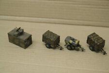 Konvolut Roco Minitanks 4 Stk. Anhänger  1:87 gesupert