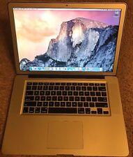"""MacBook Pro 15""""/A1286/2009/C2D/ 3.06GHz/4GBRAM/ 500HD/Office2016/OS X 10.10.5"""