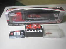 27Mhz DALE EARNHARDT SR. #3 COCA-COLA NASCAR 1:64 R/C CAR with JR. #8 Trailor