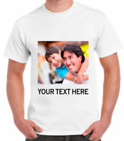 FATHER'S DAY Custom Personalized T-Shirts Photos on shirt FOR YOU FATHER