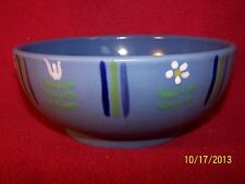 Studio Nova ~ Flora Blue ~ Coupe Soup / Cereal Bowl 6 1/2""