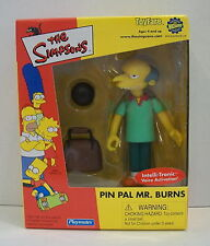 Playmates the SIMPSONS PIN PAL MR. BURNS TOYFARE Exclusive Mail Away  NEW