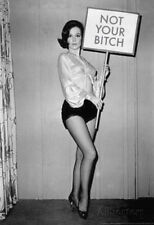 Not Your Bitch Pinup Funny Poster Collections Poster Print, 13x19