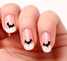 20 Adesivi Per Unghie Forma Pipistrello Halloween #407