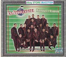 La Arrolladora Banda el Limon de Rene Camacho Tesoros de Coleccion 3CD New Nuevo