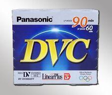 10 Panasonic 90min Mini DV Digital Video Tape AY-DVM60F