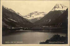 Söndmör Norway Norge 1929 fjord landscape Landskap mountains alpine mountains FRA öie Nature