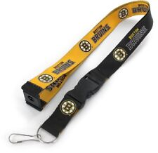 BOSTON BRUINS - REVERSIBLE LANYARD - BRAND NEW NHL HOCKEY - NHL-LN-162-07