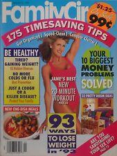 JANE FONDA January 1993 FAMILY CIRCLE Magazine