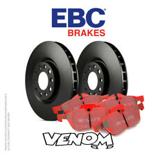 EBC Front Brake Kit Discs & Pads for Volvo V70 Mk3 2.5 Turbo (Elec H/B) 07-11