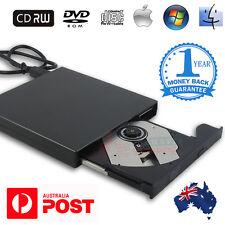 USB 2.0 External DVD CD RW Disc Writer Burner Player for PC Laptop Win7/8/10 Mac