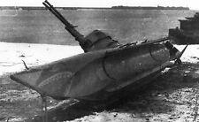 BIBER. Kleinst U - Boot der Kriegsmarine. Bauplan Masstab