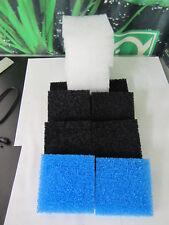 Aktiv Carbon Kohle Filterset z.b  Bioflow 8.0 / Jumbo 6 Stück