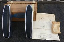 1969 69 NOS Ford Galaxie custom XL 500 LTD rear bumper guards guard set