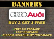LARGE 2 METRE Audi Motorsport Car Banner for Garage / Shop Display A1 A3 A4 A5