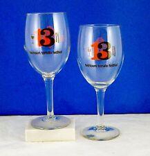 KENDALL-JACKSON WINERY, Calif. 13th HEIRLOOM TOMATO FESTIVAL Pair 2 Wine Glasses