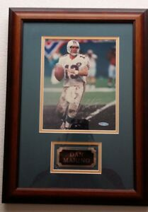 DAN MARINO UDA UPPER DECK AUTHENTICATED SIGNED 8X10 PHOTO AUTOGRAPHED DOLPHINS