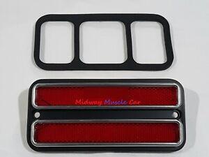red rear side marker lens 67-72 Chevy GMC Pickup K10 C10 C1500
