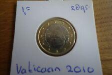 1.00 eurocent Vaticaan 2010 BU