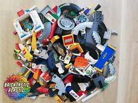 LEGO PARTS - 640g Printed & sticker parts and bricks - rare!