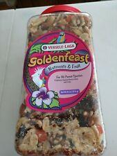 4 lb jar Goldenfeast Nutmeats & Fruit Bird Food Nuts Treats Grey Cockatoo Macaw