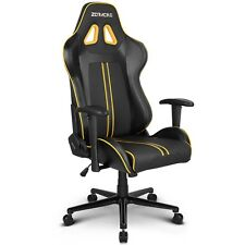 ZQRacing League Series Gaming Office Chair-Yellow/Black
