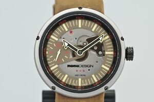 Momo Design Evo Meccanico Limited Edition 221/575 Open Face Watch MD1010BS-32