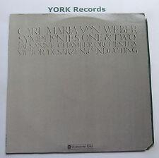 WGS-8279 - WEBBER - Symphonies No 1 & 2 DESARZENS Lausanne CO - Ex Con LP Record