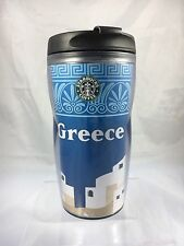 Starbucks 2008 Greece 12oz Travel Tumbler  New W/ SKU Sticker