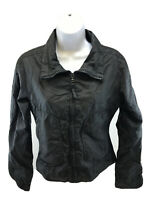 SPL Edge Women's Black Lightweight Long Sleeve Full Zip Jacket Sz S