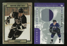 1989 ACTION PACKED WAYNE GRETZKY SAMPLE 1999 PETER FORSBERG TRIPLE COLOR PATCH 2