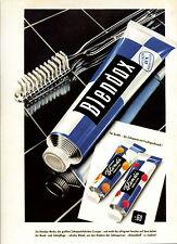 Blendax -- Für Kinder - mit Fruchtgeschmack -- Poster-Plakat - Farbe-