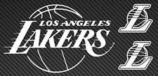 LA LAKERS Logo Vinyl Sticker Decal Laptop Car Truck NBA los angeles basketball