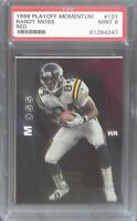 1998 Playoff Momentum Red #131 Randy Moss PSA 9