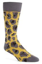 Paul Smith Men's Camo Jacquard Socks in Yellow, One Size, NWT