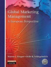 Global Marketing Management: A European Perspective-Dr Bodo Schlegelmilch, Dr W
