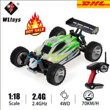WLtoys A959-B 2.4G 1:18 4WD 70KM/H Electric Buggy RC Auto Racing Car Offroad DHL