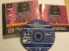 PS1 PLAYSTATION 1 PSone GAME THUNDERHAWK 2 FIRESTORM +BOX INSTRUCTIONS COMPLETE