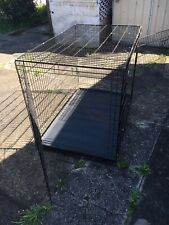 Portable Heavy Duty X-Large Dog Cage Puppy Playpen Black