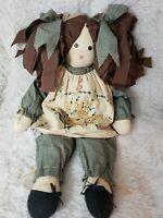 Handmade rag dolls, vintage/farm look