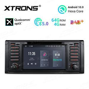 Für BMW 5er E39 4GB+64GB Android 10 Autoradio DVD HDMI GPS NAVI BT 5.0 APTX DAB+