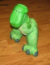 """Disney Pixar Toy Story ROARING REX 16"""" Plush 2009 Fisher Price Squeaker Toy"""