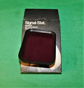 🔥 NOS SIGNAL-STAT 7052 STAINLESS STEEL REPLACEMENT MIRROR HEAD 8 X 6 TRUCK VAN