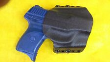 HOLSTER BLACK KYDEX FITS RUGER LC9 LC 9 OWB