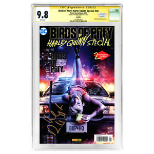 Margot Robbie Autographed Panini Birds of Prey Harley Quinn German CGC SS 9.8